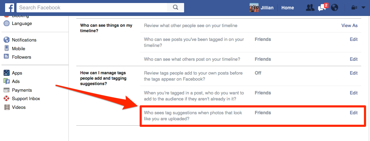 Cách ngăn chặn Facebook tự động gắn thêm bạn vào trong ảnh - ảnh 2