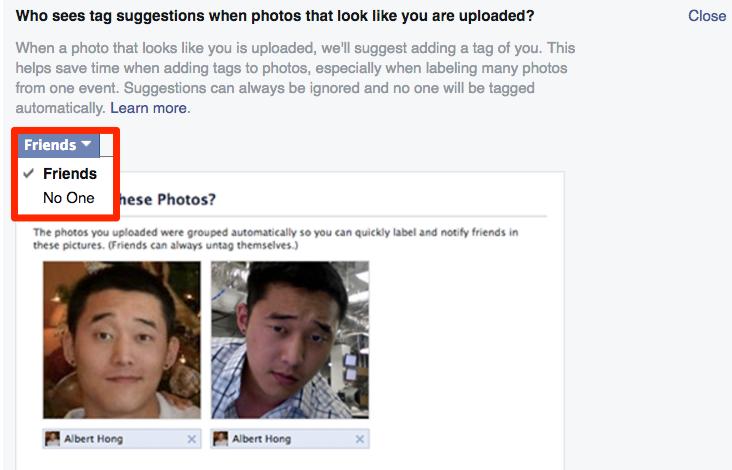 Cách ngăn chặn Facebook tự động gắn thêm bạn vào trong ảnh - ảnh 3