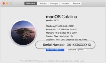 Apple thay đổi cách sử dụng số serial trên sản phẩm | Công nghệ
