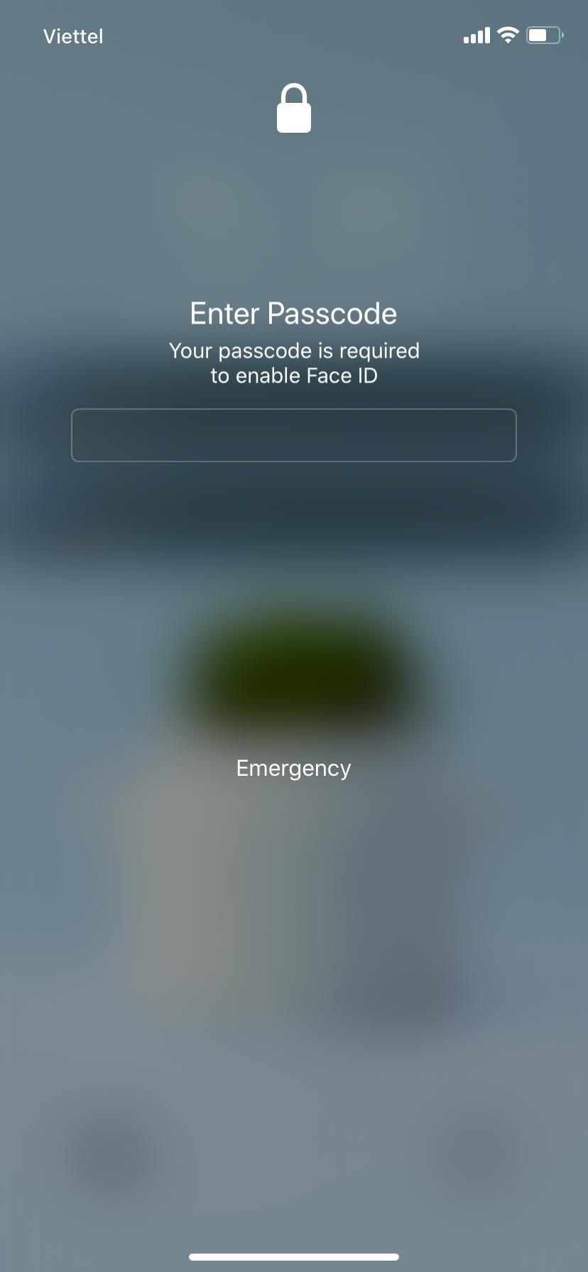 Cách vô hiệu hóa nhanh Face/Touch ID tạm thời cho iPhone - ảnh 1