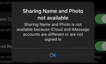 Cách sửa lỗi không thể chia sẻ tên và ảnh đại diện trên iOS   Công nghệ